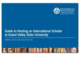 Guide to Hosting an International Scholar